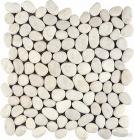 PEBBLES STONE WHITE 35X35